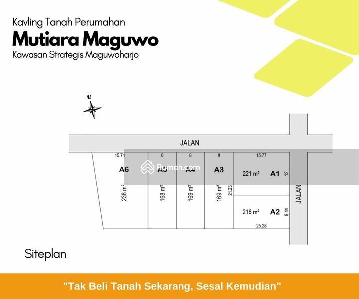 Area Strategis Maguwoharjo, Kavling Tanah 1,5 KM Ringroad Utara #102911985