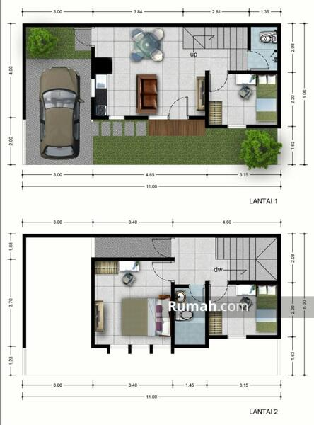 Puri Kayu Manis Residence #96790245