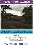 tanah Bulurejo jl Raya solo purwodadi Km 10
