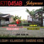 Tanah 120m di Jakapurwa Logam dkt Margacinta Ciwastra Tol Buah Batu Cijaura Margawangi Bandung