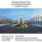 Tanah Kavling Pakuwon City Grand Island Suvadiva Mewah Row Jalan Lebar