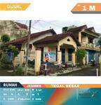 Rumah Luas  Tengah Kota Cocok untuk Hunian atau Perkantoran