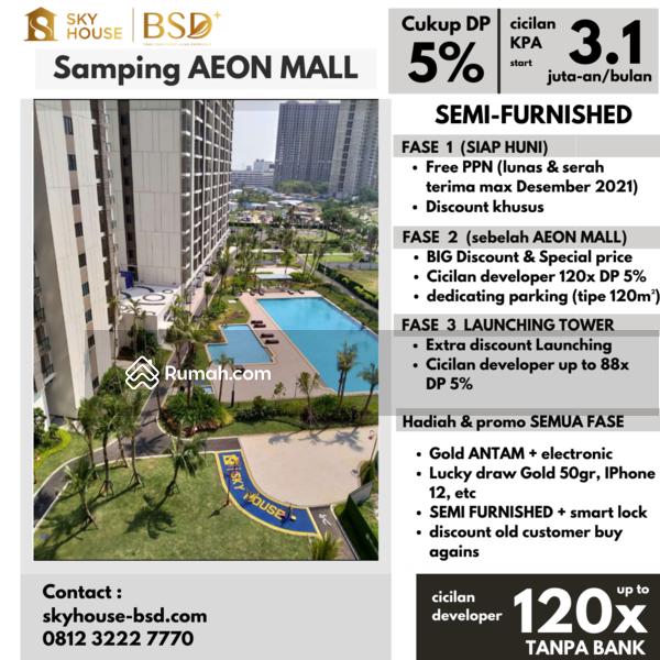 Apartment Sky House BSD+ (Samping AEON MALL) #110499557