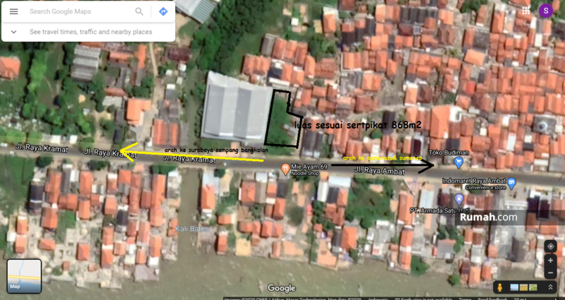 Tanah Nol Jalan Propinsi Pamekasan SN #97678015