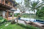 Monthly rent villa at ubud 3 bedrooms all bill includes