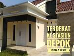 Promo rumah kpr termurah terdekat stasiun depok mulai 400jtan