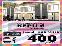 Dijual - Dijual Rumah Murah Modern Minimalis Kepu Kemayoran Jakarta Pusat. Harga Apartemen! !!