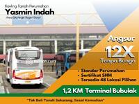 Dijual - Strategis, 1, 2 KM Terminal Bubulak, Kavling Tanah Yasmin Indah, Bogor