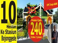 Dijual - rumah termurah di cluster muslim pilihan milenial