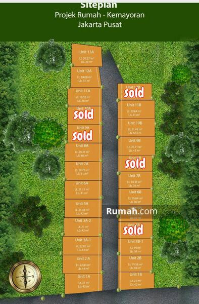 Rumah Murah Kemayoran Jakarta Pusat #98065303