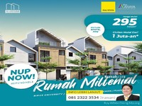 Dijual - Rumah Apartemen Untuk Milenial dari Araya Malang