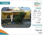Rumah di Gunung anyar Surabaya Timur dekat jalan Tol, Bandara Juanda