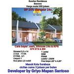 Rumah Baru Sunrise Residence Benowo 300jtan Surabaya