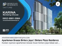 Dijual - Breeze Tower - Bintaro Plaza Residences