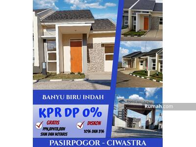 Dijual - Banyu Biru Indah cluster