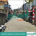 Rumah di jalan Merah Jambu, Kelapa Gading, siap renovasi, lingkungan aman , asri