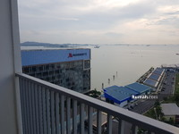 Disewa - Apartment 1 Bedroom Sea View Harbourbay Residence