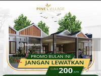 Dijual - Pine village rumah murah 200juta an