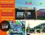 Dijual Rumah Baru murah SHM Strategis pinggir jalan dekat SMPIT Boarding Cendekia Cianjur