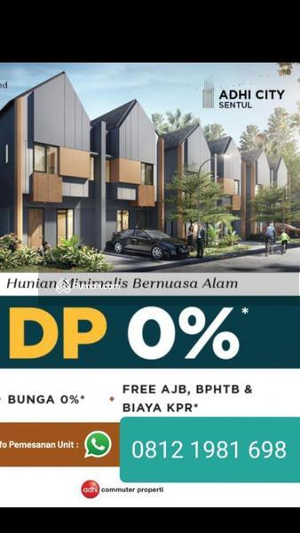 Rumah Millenial Modern di Sentul....ASN, TNI, POLRI yang minat langsung dapat unit rumah* #107254823