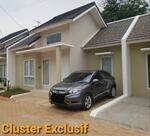 Cukup Dp10jt Sudah bisa punya Rumah Cluster Exclusif Bebas Banjir Uang Kembali 100% jika dtolak Bank