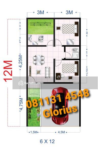 Rumah Murah GOR Sidoarjo Jenggolo-Transmart Green City #98659597
