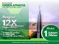 Dijual - 5 Menit Jl. Serpong-Parung, Kavling Tanah Green Athaya Bogor; Angsur 12X tanpa Bunga