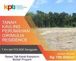 Hanya 700rb per meter: Jual Tanah Kavling Perumahan Murah di Jogja