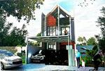 Rumah 2 lantai design modern dalam komplek elit jatinegara jakarta timur