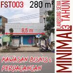 Tanah 280m Jamika dkt Pasirkoja Sudirman Pasir Koja Peta Sukahaji Babakan Ciparay Bandung FST003