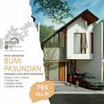 Rumah Indent Mewah Di Kota Bandung Posisi Di dalam Perumahan Bumi Pasundan, Custom Denah dan Design