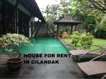 For Rent Beautiful and Spacious House in Cilandak Bawah