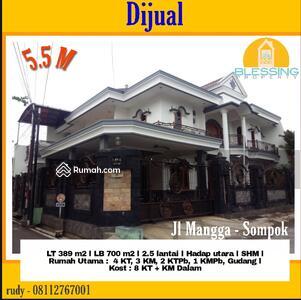 Dijual - Dijual Rumah + Kos2 an Tengah Kota, Startegis, Semarang Selatan