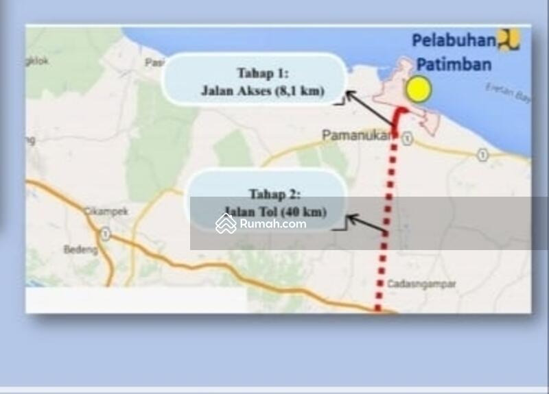 Dijual Lahan Kawasan Industri dekat Pelabuhan Patimban Subang Jawa Barat #99122927