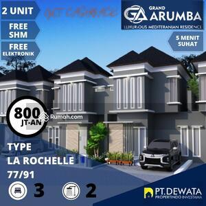 Dijual - 3 Bedrooms Rumah Soekarno Hatta, Malang, Jawa Timur