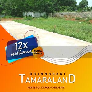 Dijual - Kavling Tamaraland Bojongsari Depok 2 Jutaan