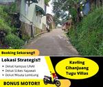BONUS MOTOR Kavling Siap Bangun Cihanjuang SHM Termurah 1, 9 Jutaan