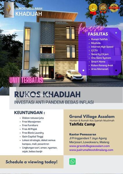 RUKOS dan Homestay Mewah di Kota Malang Yuk Invest Dijamin Untung #99263915