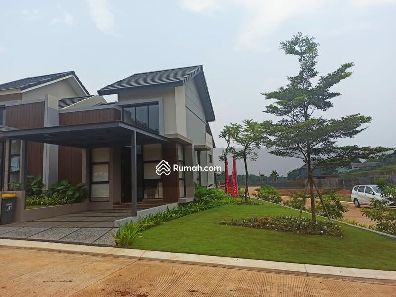 Hunian minimalis hadir dengan konsep kota mandiri samping tol Bogor Serpong bebas banjir #109159439