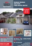 Rumah murah DP 10jt free biaya-biaya