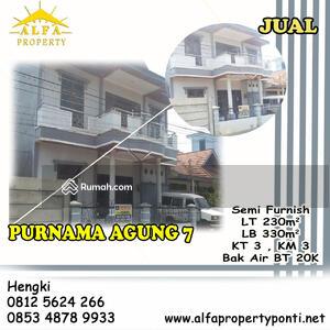 Dijual - Rumah Purnama Agung 7, Pontianak, Kalimantan Barat