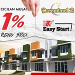 Rumah Cluster Murah Siap Huni Dreamland Marina Batam