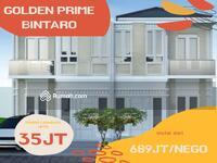 Dijual - Rumah 2 lantai termurah di akses strategis Bintaro/Ciputat