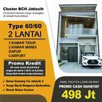 Rumah mewah 2 lantai, bebas banjir, Jatiasih, dekat Pondokgede, kota Bekasi
