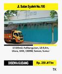 Di Sewa Gudang Di Jl Sultan Syahrir No 195