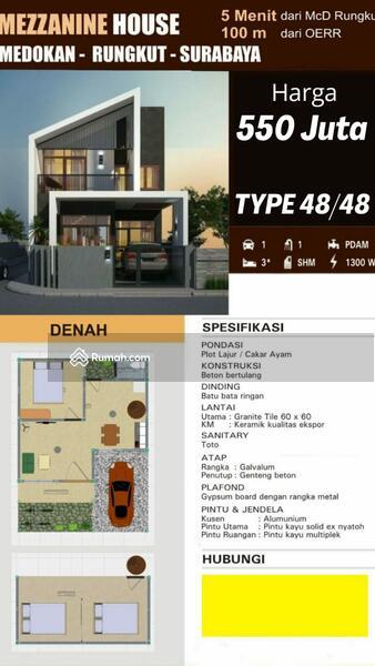 Rumah Unik 2 Lantai Dijual Murah Lokasi Medokan Rungkut Medokan Ayu Tambak Medokan Ayu Surabaya Jawa Timur 3 Kamar Tidur 48 M Rumah Dijual Oleh Edwin Firstdyan Rp 575 Jt 17846009