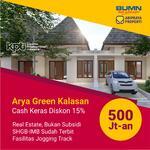 Arya Green Kalasan, Beli Rumah Gratsi Furniture 30 Juta