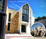 rumah villa dijual di kota batu malang