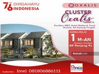 Dijual - Oxalis Metland Puri cluster baru mulai dari 1M an