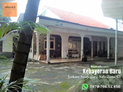 Dijual - Rumah Lama di Kebayoran Baru - Sub-Zona C1 - Prime Location